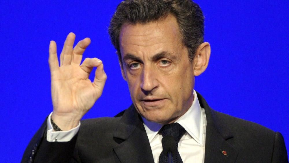 Nicolas Sarkozy, presidente francés
