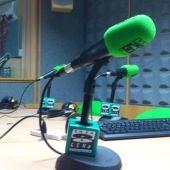Micrófonos de Onda Cero en un estudio