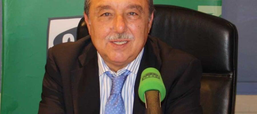 Pedro Javier Cáceres, presentador de La Divisa