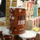 Comercio Justo - Bote de café