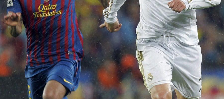 Cristiano frente a Alves