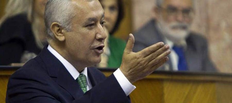 Javier Arenas, en la sesión de investidura