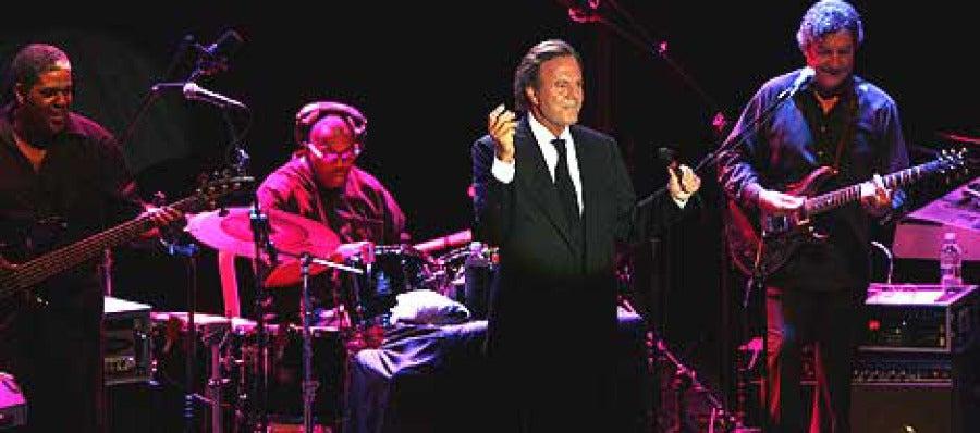 Julio Iglesias, en concierto