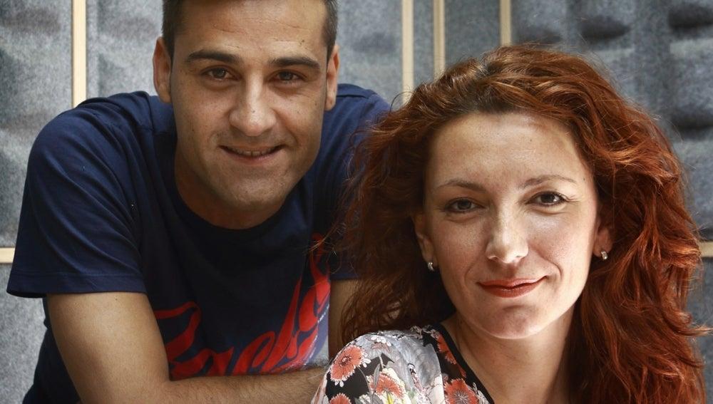 Chema García y Susana Valdés
