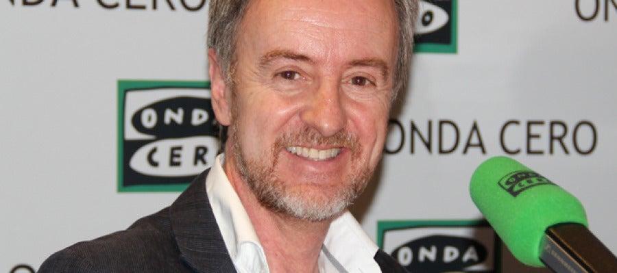 El actor Carlos Hipólito en Onda Cero