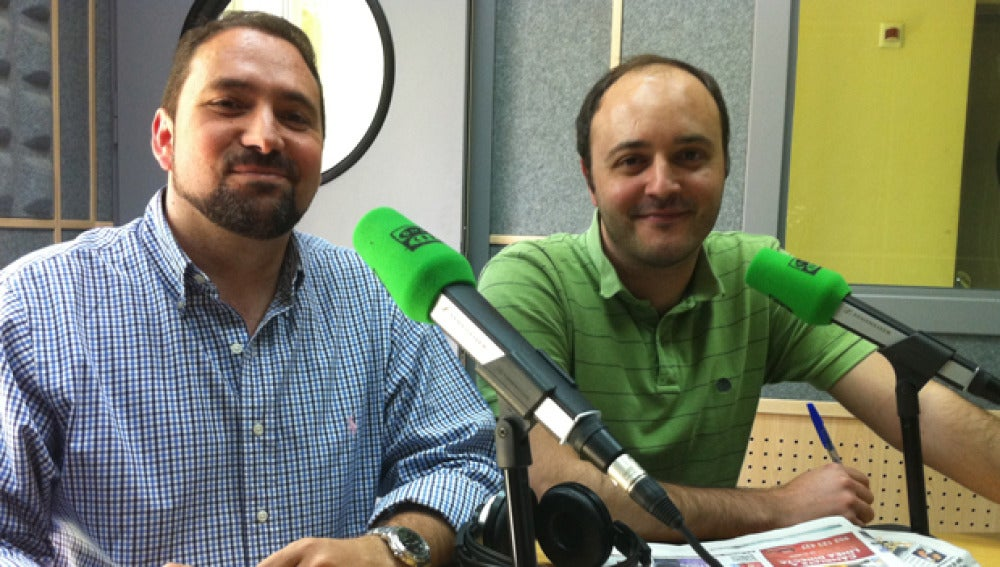 Carlos Hidalgo y José Manuel Jiménez