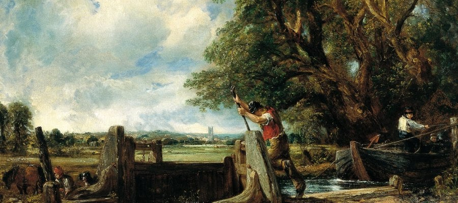 La Esclusa, obra de John Constable