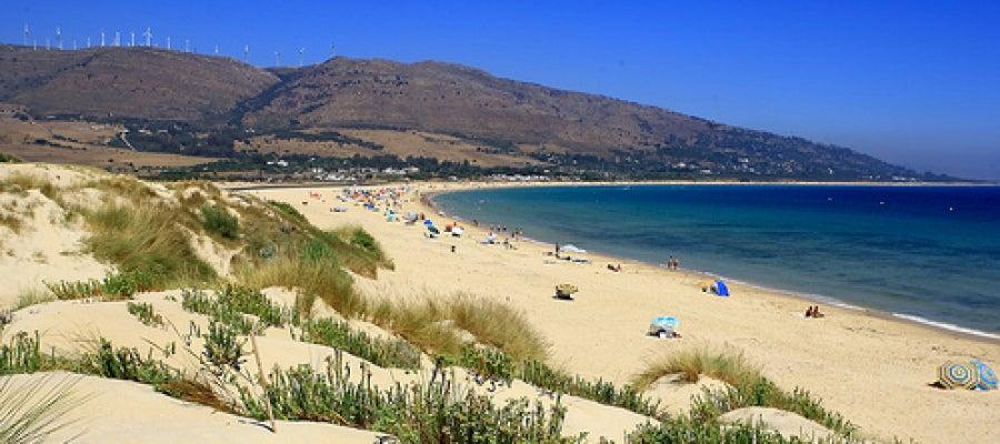 Playa virgen de Valdevaqueros