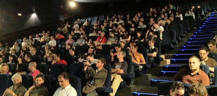 Asistentes a una sala de cine