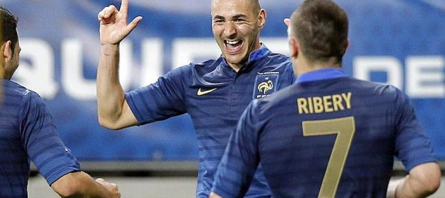 Benzema y Ribery