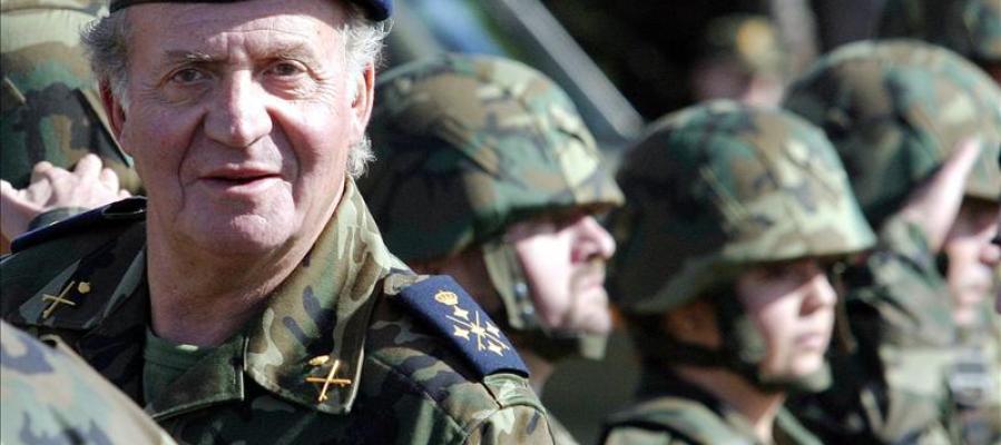 El rey visita Algeciras para apoyar la labor de la Guardia Civil