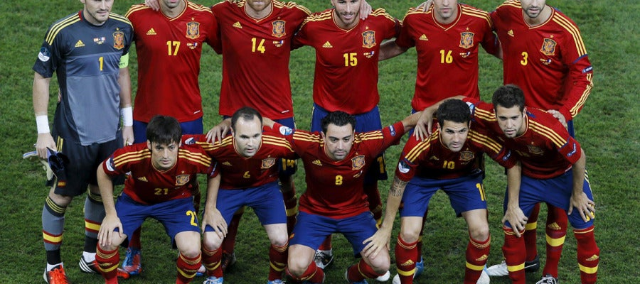 El once de España