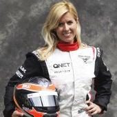 Maria de Villota, piloto probadora de Marussia.