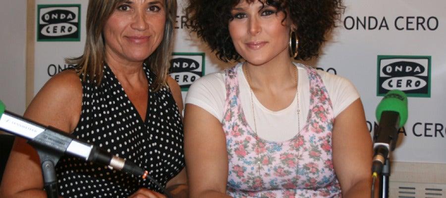 Julia Otero con Rosa López