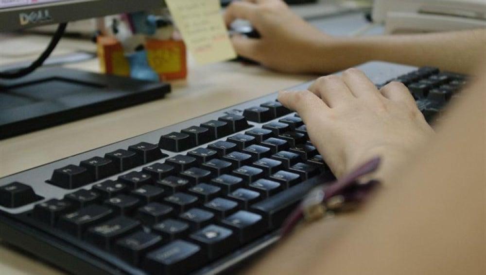 Un teclado de ordenador