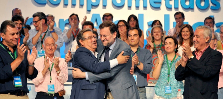 Mariano Rajoy y Juan Ignacio Zoido