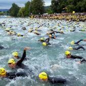 Triatlón en Zurich (15-07-2012)