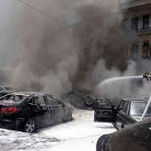 Atentado en la Sede Nacional de Damasco