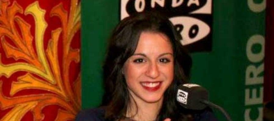 Carolina Rodríguez, representante española de gimnasia rítmica