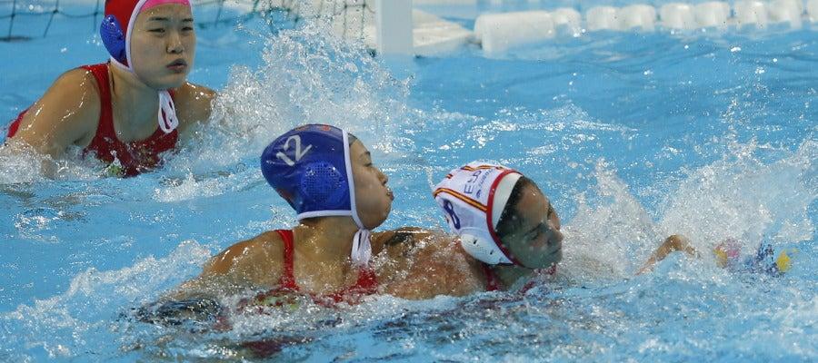 Debut olímpico de la selección femenina de waterpolo