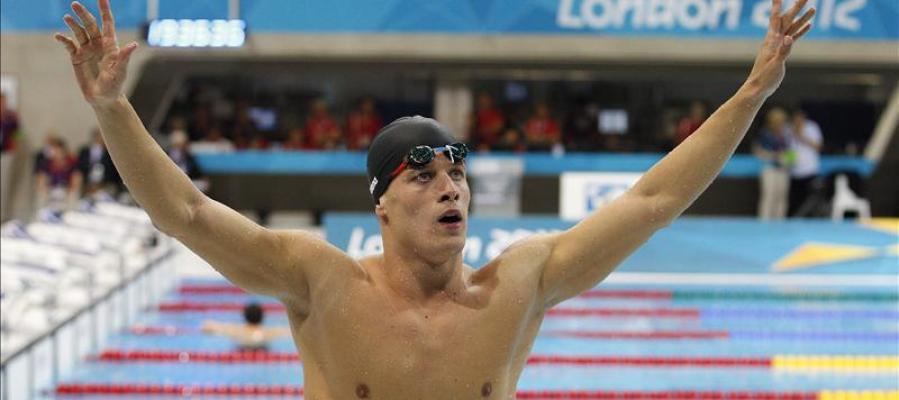 Van der Burgh durante los Juegos