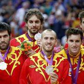 España plata en el baloncesto de los JJOO