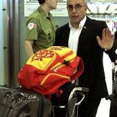Alejandro Blanco llega a Barajas tras los JJOO