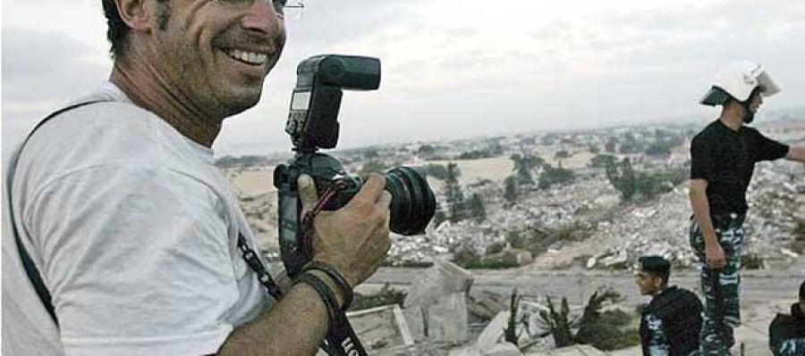 El fotoperiodista Emilio Morenatti