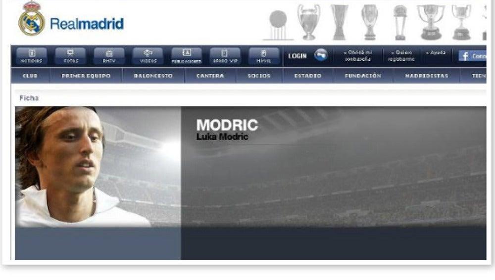 Luka Modric en el Real Madrid