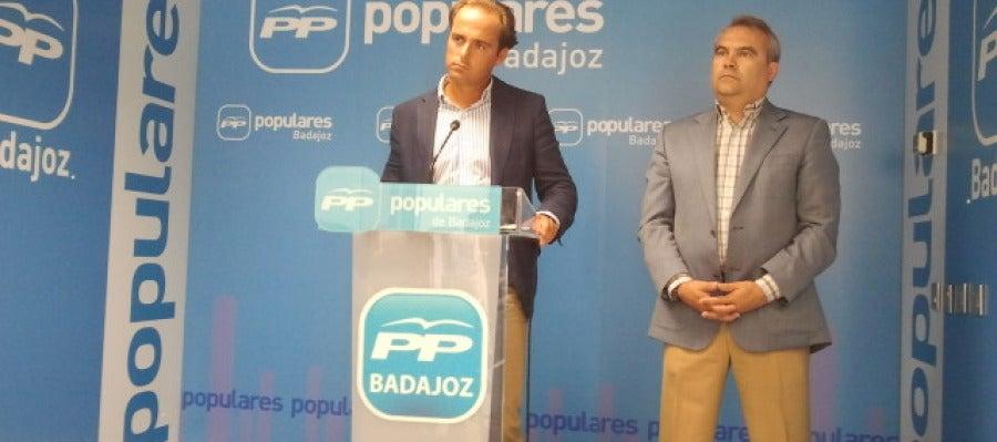 Juan Parejo, visecretario y Fco. Javier Fragoso