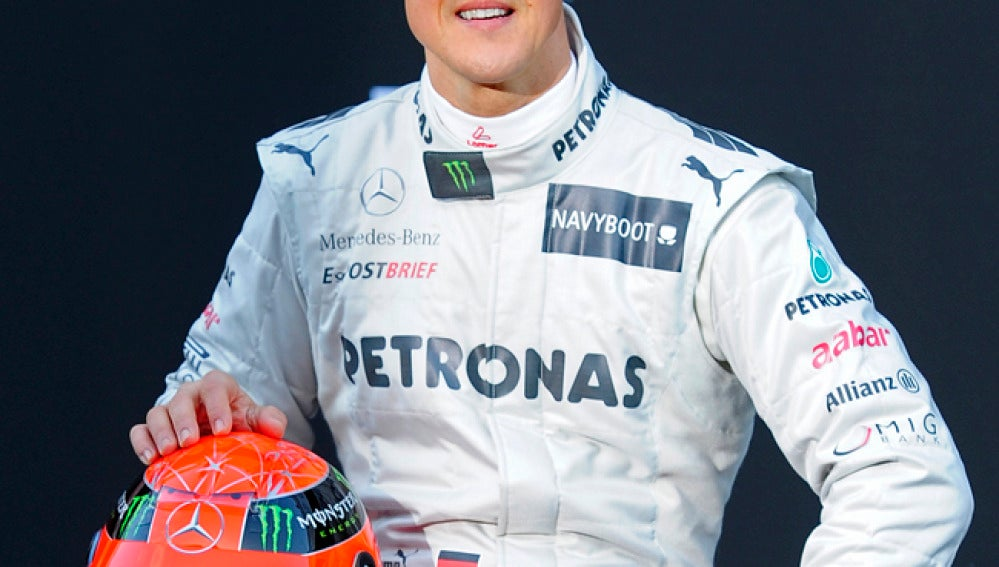 La renovación de Michael Schumacher con Mercedes es una incógnita.