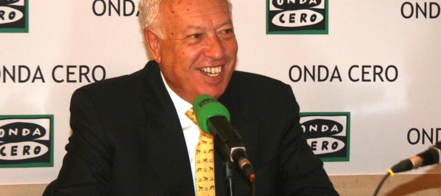 José Manuel García- Margallo, ministro de Asuntos Exteriores, en Onda Cero