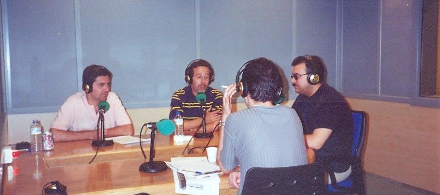 Carlos Canales, Jesús Callejo y Juan Antonio Cebrián