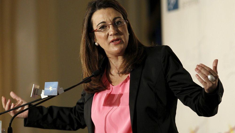 La portavoz del Grupo Socialista del Congreso, Soraya Rodríguez