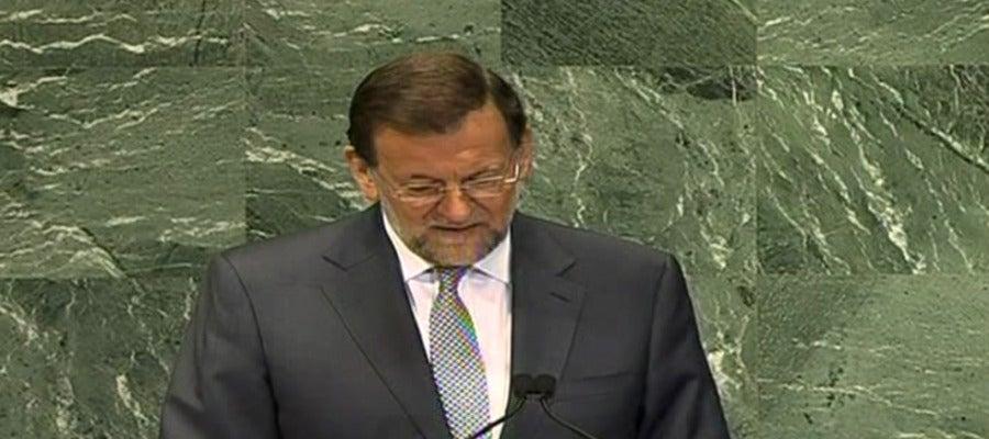 Rajoy en la Asamblea de Naciones Unidas