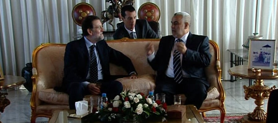 Rajoy, en Marruecos