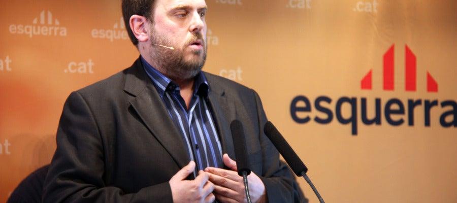 Oriol Junqueras, candidato de ERC