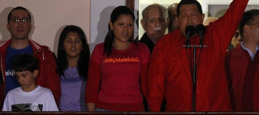 Chavez vuelve a ganar las elecciones presidenciales