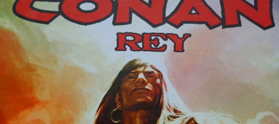 Portada de 'Conan Rey: La Ciudadela Escarlata', que edita Planeta DeAgostini Cómics.