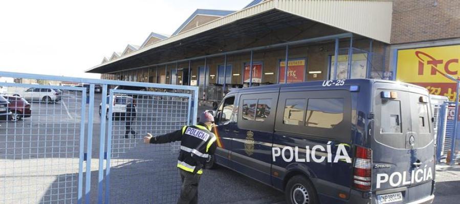 Redada policial en Cobo Calleja