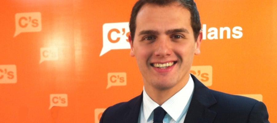 Albert Rivera, candidat de Ciutadans