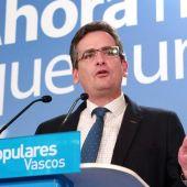 Antonio Basagoiti, líder del PP vasco