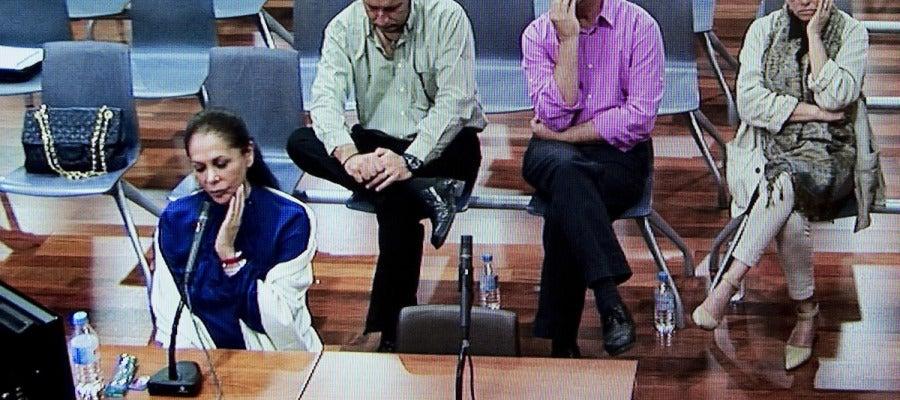 Isabel Pantoja en los juzgados