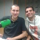 Javier Saralegui y Javier Ugalde