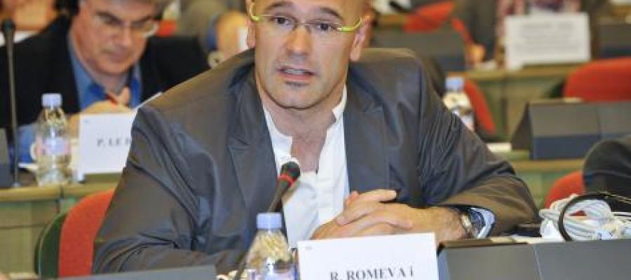 Raúl Romeva, eurodiputado de Iniciativa Els Verds