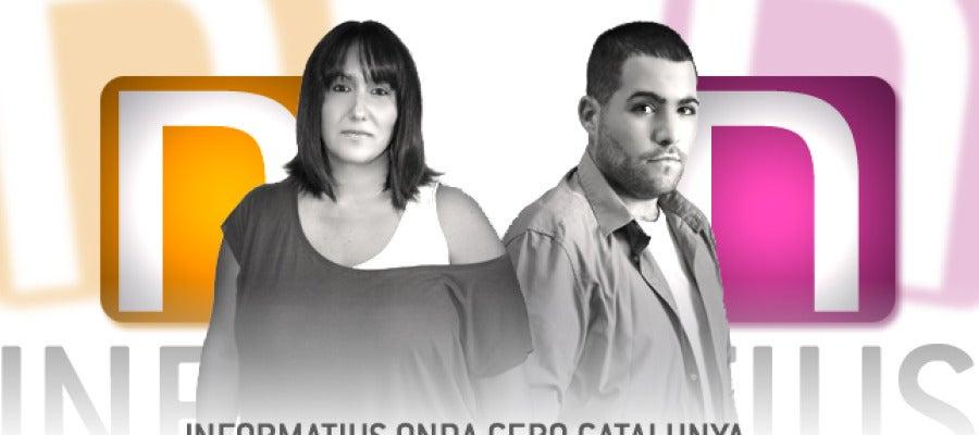 Miriam Franch i Robert Calvo, editors Informatius Onda Cero Catalunya