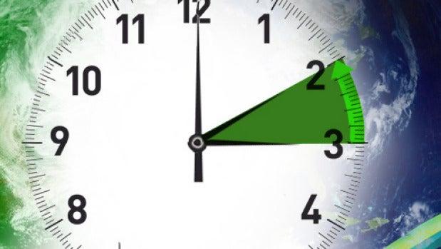 Cambio de hora, a las 3 son las 2