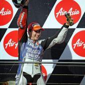 Jorge Lorenzo se proclama campeón de Moto GP