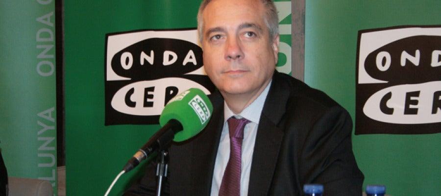 Pere Navarro, candidat del PSC