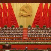 XVIII Congreso del Partido Comunista de China.